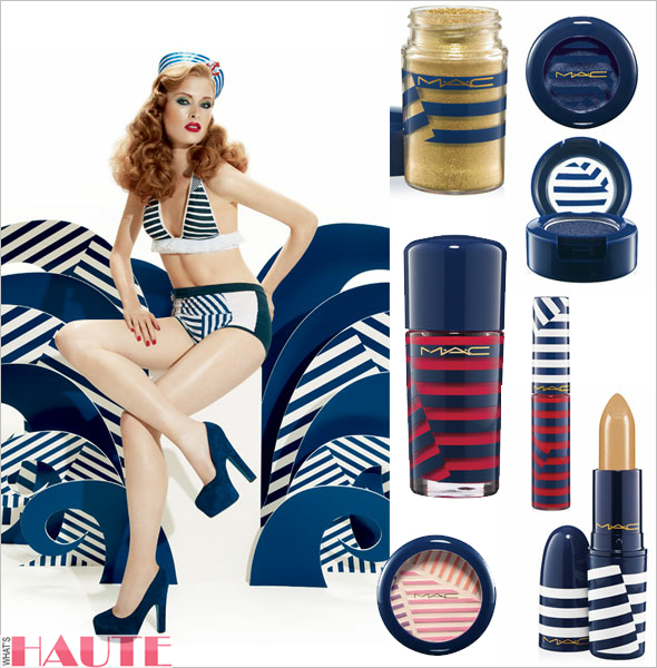M·A·C Hey, Sailor! Colour Collection, Eyeshadow, Powerpoint Eye Pencil, Pro Long Wear Lip Pencil, Powder Blush, Lipstick, Highlight Powder, Lipglass, Pigment, Nail Lacquer