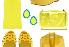 What to Wear: Mellow Yellow - 10 sunny fashion and accessory picks for summer