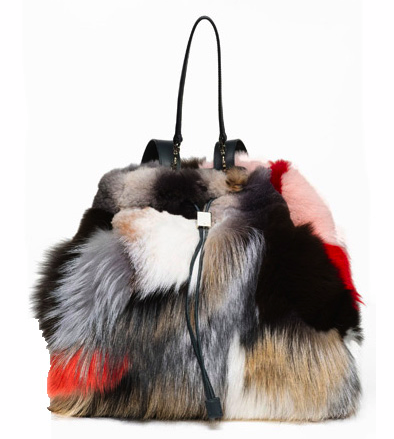 Mary-Kate and Ashley Olsen's new fur bag