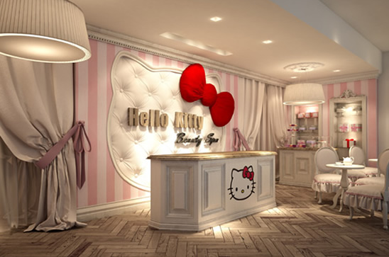 Hello Kitty Beauty Spa opened in Dubai