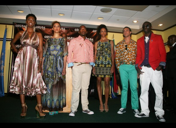 Nelson Mandela launches 46664 fashion collection