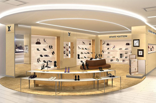 Louis Vuitton shop-in-shop at Saks