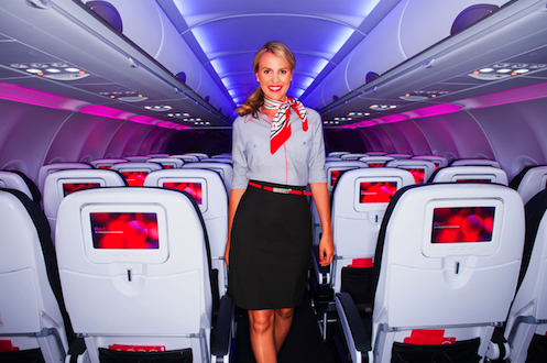Banana Republic designs Virgin America uniforms