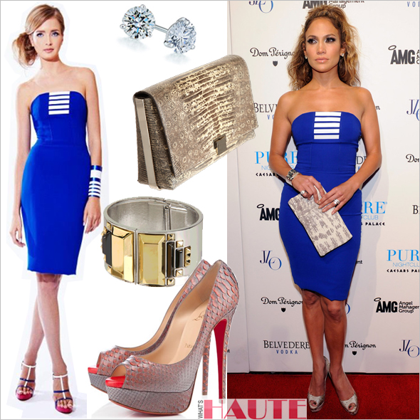12779b49b7e Get her haute look: Jennifer Lopez in an Edition by Georges Chakra ...