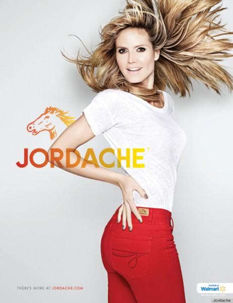 Heidi Klum for Jordache