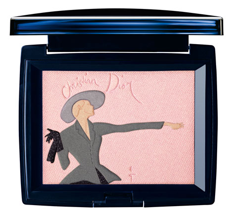 Christian Dior's limited edition Tailleur Bar compact