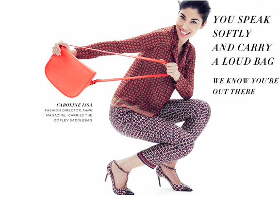 "J.Crew ""We Know You're Out There"" campaign Caroline Issa"