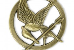 Score a leather Katniss jacket, gold Mockingjay pin + more at Target's
