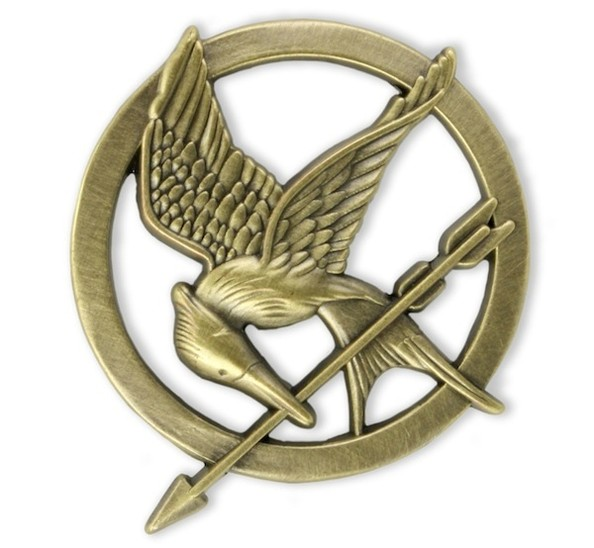 Target 14-karat gold Mockingjay pin - The Hunger Games