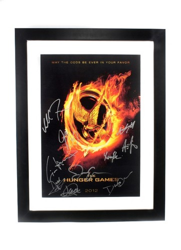 Target The Hunger Games lithograph