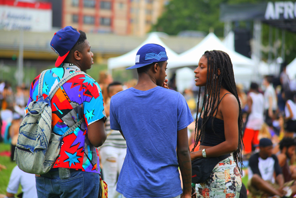 2012 Afropunk Festival in Brooklyn