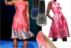 What she wore: Michelle Obama at the 2012 Democratic National Convention in Tracy Reese & J. Crew