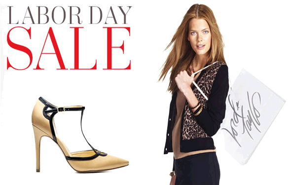 Shop over 25 haute Labor Day sales, shopping steals and deals