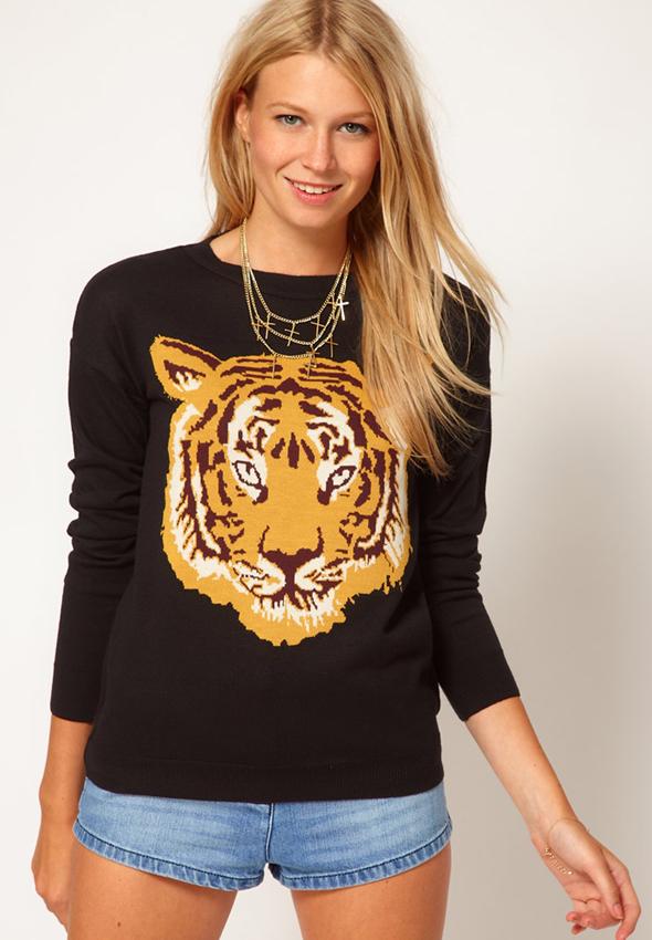 Asos Tiger Sweater What S Haute