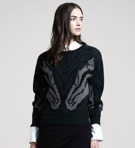 Altuzarra Naples Intarsia-Knit Sweater