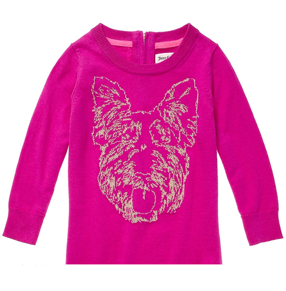 Juicy Couture Intarsia Dog Dress