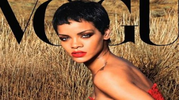 Rihanna talks about covering Vogue magazine for the second time in its November 2012 issue