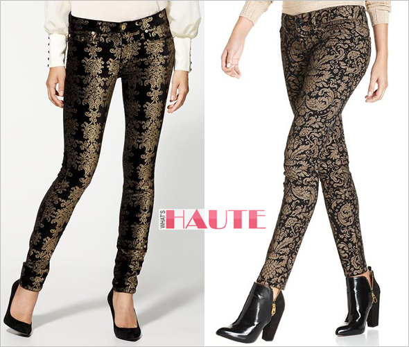 7 For All Mankind The Skinny Jeans & Seven7 Petite Jeans, Skinny Baroque-Print