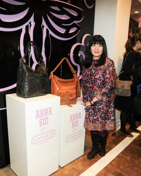 Anna Sui designs two duffels for Coach