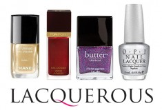 Haute fashion + beauty + celeb news roundup: Rent nail polish via new subscription club Lacquerous; Rihanna is GQ's 