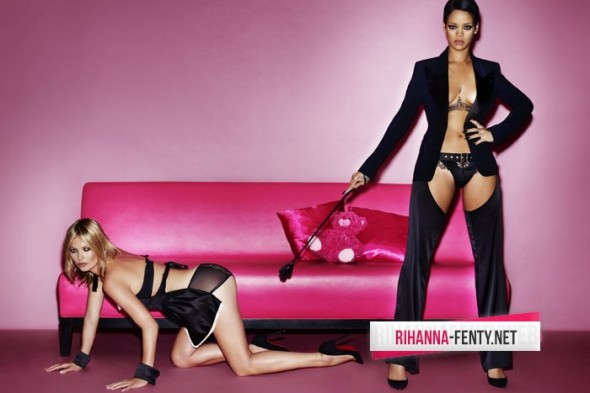 Rihanna & Kate Moss - V Magazine photoshoot