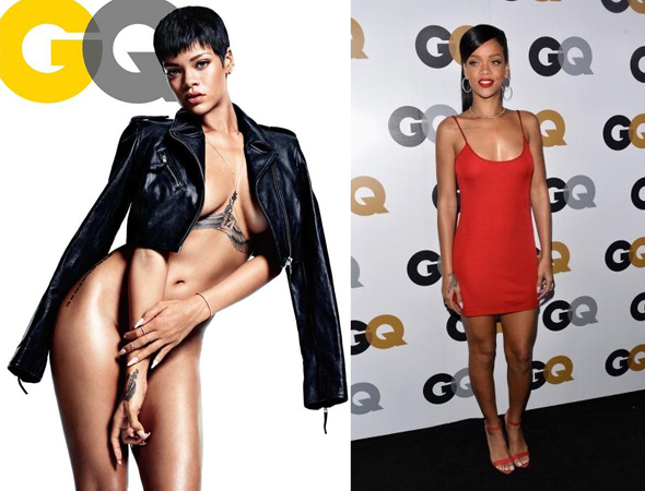 Rihanna covers GQ as 'Obsession of the Year' and hits up GQ Men of the Year Party!