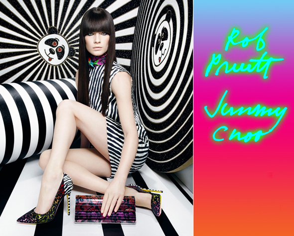 Rob Pruitt x Jimmy Choo collection