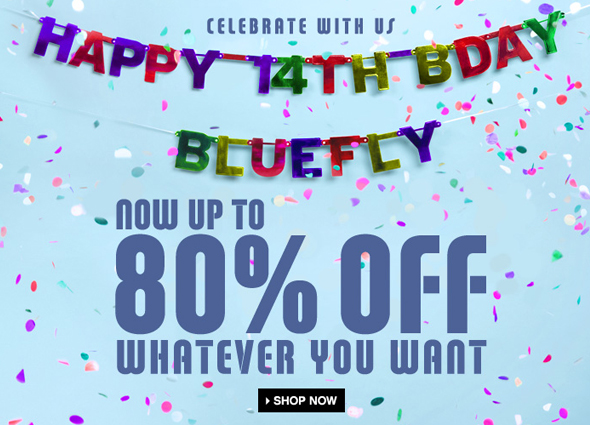 Bluefly birthday sale