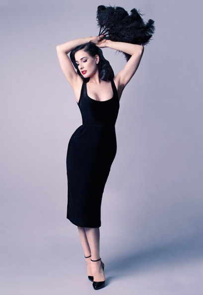 Dita Von Teese dress collection