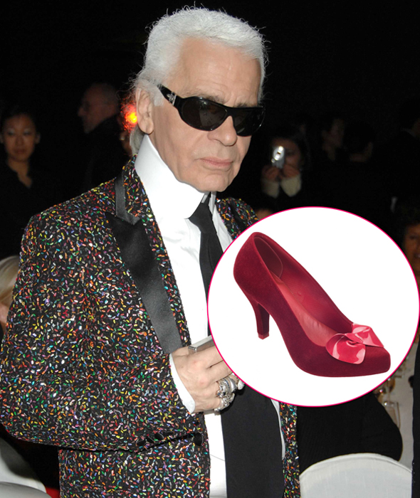 Karl Lagerfeld for Melissa shoes