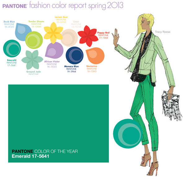 Pantone names Emerald Green as Color of the Year for 2013