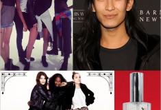 Haute fashion + beauty + celeb news roundup: ASOS to open New York store; Pizza Hut launches perfume; Rihanna shows off River Island line; Alexander Wang starts at Balenciaga + Karl collabs with Melissa shoes