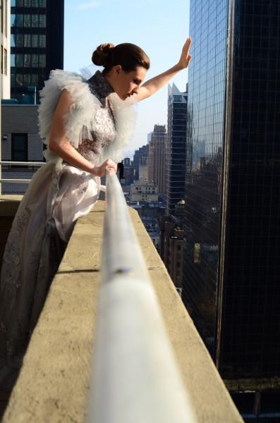 Romanitza Silver Dream gown