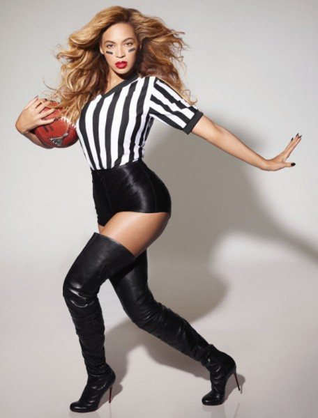 Beyoncé Super Bowl promo pic