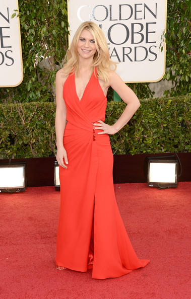 Claire Danes at the 70th Annual Golden Globe Awards