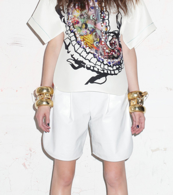 Cynthia Rowley Flask Bangles from her Spring 2013 fashion presentation