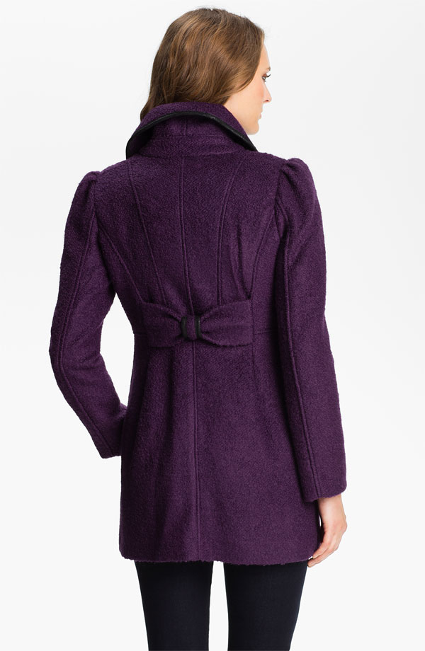 GUESS Bow Back Walking Coat