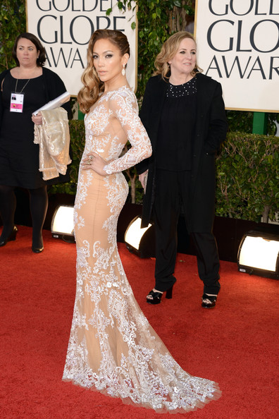 Jennifer Lopez at the 70th Annual Golden Globe Awards