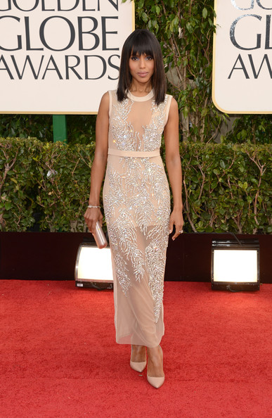Kerry Washington at the 70th Annual Golden Globe Awards
