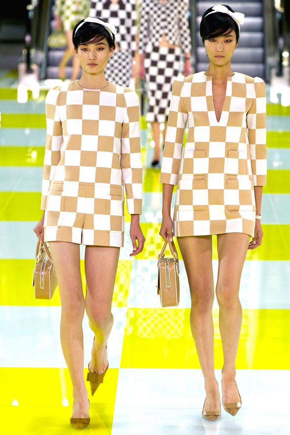 Louis Vuitton Spring Summer 2013 runway