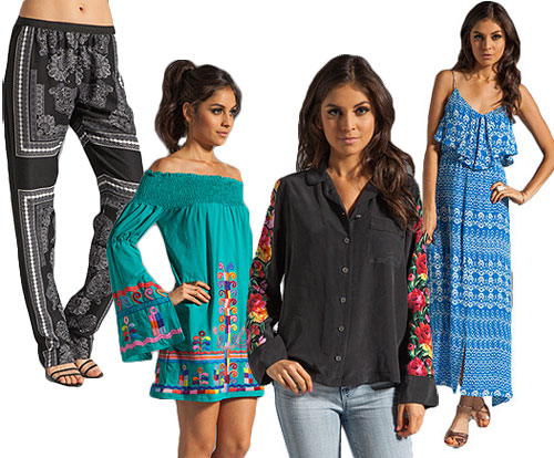 Revolve Clothing Serves Up Boho-style Pieces