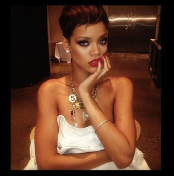 Rihanna top secret ad campaign for Chanel?