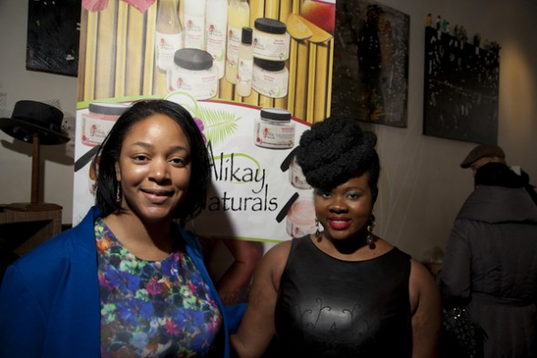 "Valincia Saulsberry of ""Chicagolicious"" & Rochelle Graham of Alikay Naturals host event at SWING Harlem to support cervical cancer education"