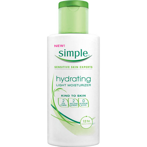 Simple skin care Hydrating Light Moisturizer