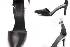 Haute buy: Tibi Shane Clear Strap Pumps