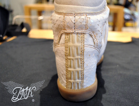 Beyonce Isabel Marant King Bey wedge sneaker back view