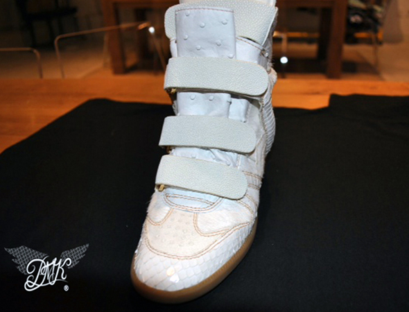 Beyonce Isabel Marant King Bey wedge sneaker front view