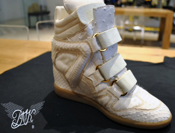 Beyonce Isabel Marant King Bey wedge sneaker main view