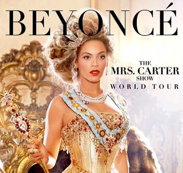 Beyonce The Mrs. Carter Show World Tour
