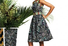 Lookbook: Duro Olowu for jcp collection - Look 10